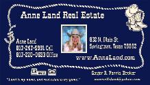 Anne Land Real Estate