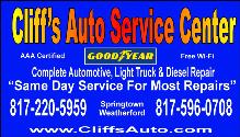Cliffs Auto Service Center Goodyear