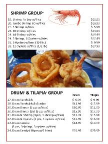 Bayseas Seafood Restaurant Converse Menu pg3