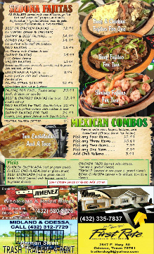 Sedona Restaurant Menu pg3