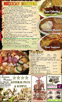 Sedona Restaurant Menu pg4
