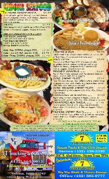 Sedona Restaurant Menu pg5
